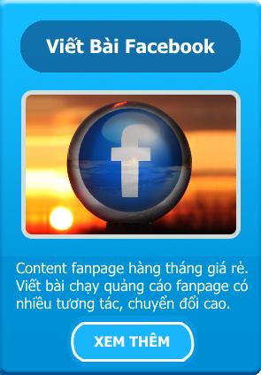 viết content fanpage
