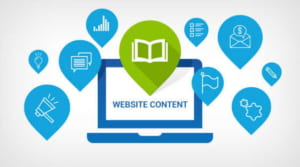 Viết content website