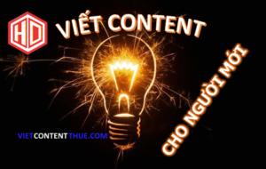 Viết content cho người mới