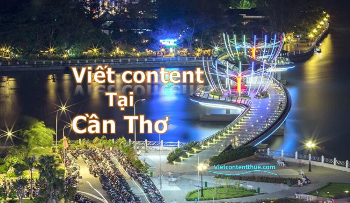 Viết content tại Cần Thơ
